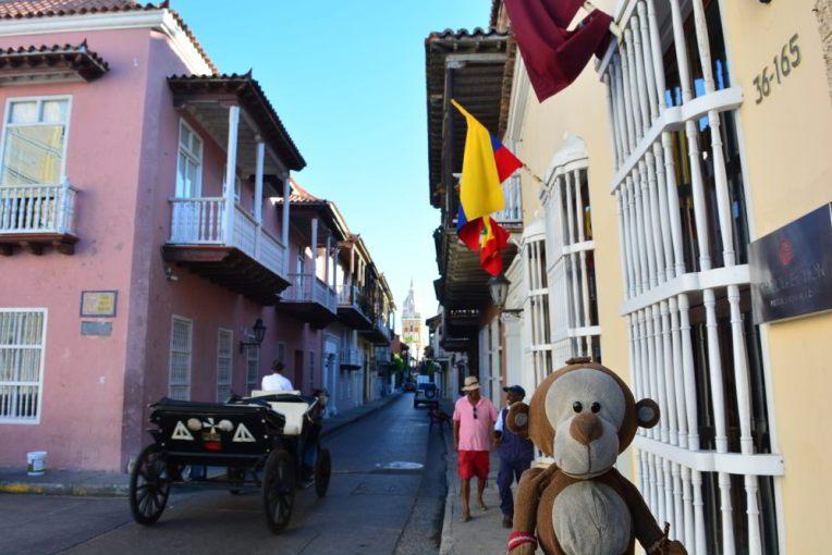 Belas ruas de Cartagena