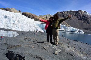 Glacial Pastoruri, no Parque Nacional Huascarán