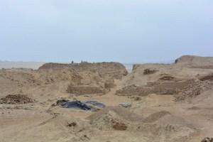 Ruínas de Pachacamac, pertinho de Lima