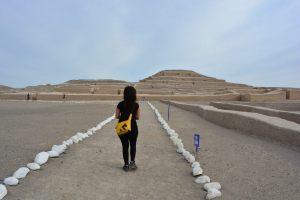 Nas pirâmides de Nazca