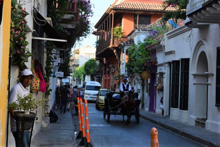 Ruas de Cartagena, Colômbia