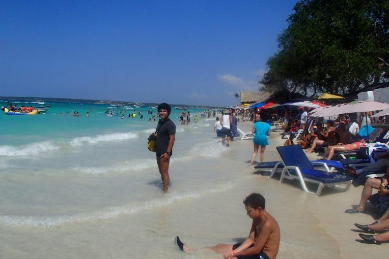 Playa Blanca lotada