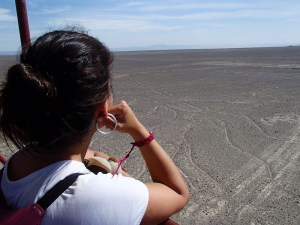 Vendo as linhas de Nazca sem pegar avião