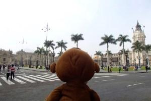 Mucuvinha no centro de Lima