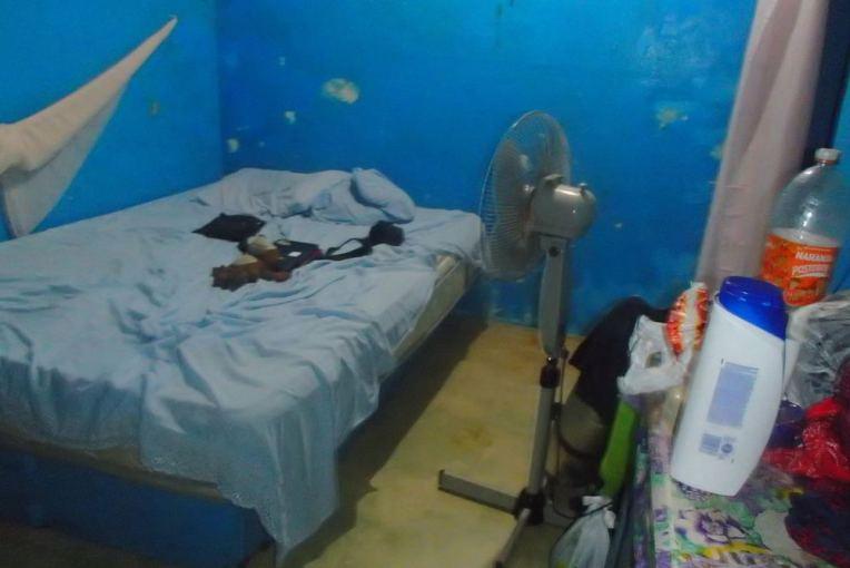 Nossa hospedagem em Puerto Obaldía