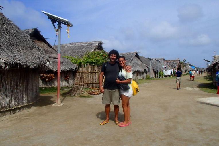 Aldeia indígena em San Blás