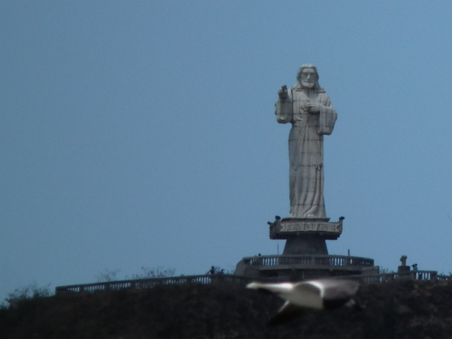 Estátua do cristo de San Juan del Sur