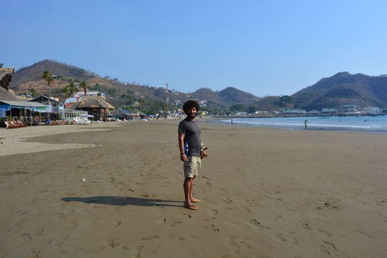 Praia de San Juan del Sur, Nicarágua