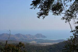 Praia de San Juan del Sur vista do Parque Las Nubes
