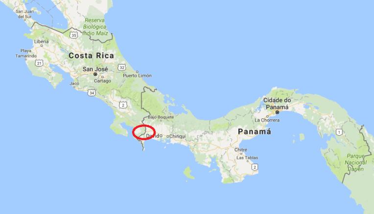 A fronteira Panamá - Costa Rica por Paso Canoas