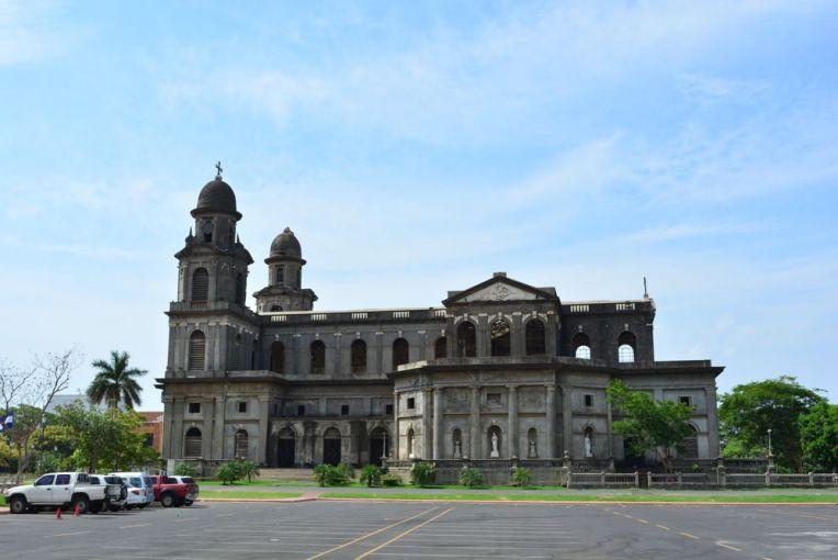 Antiga catedral de Manágua, condenada pelo terremoto de 72.