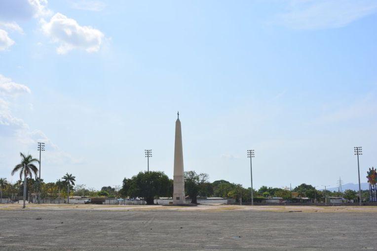 Praça João Paulo II, em Manágua