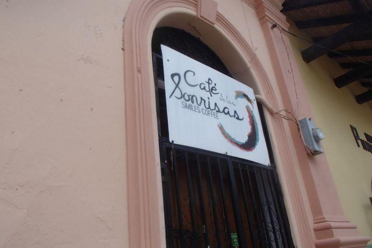 Café La Sonrisa, em Granada