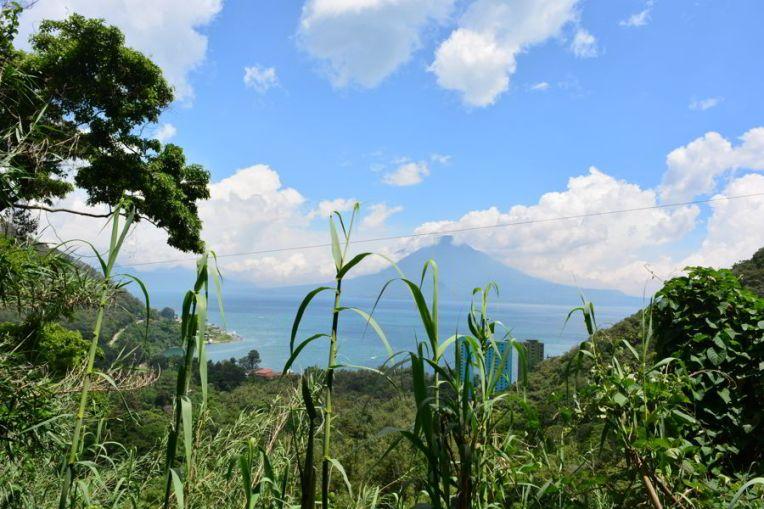 Vista da Reserva Natural Atitlán
