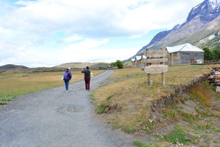 Entrando no parque Torres del Paine
