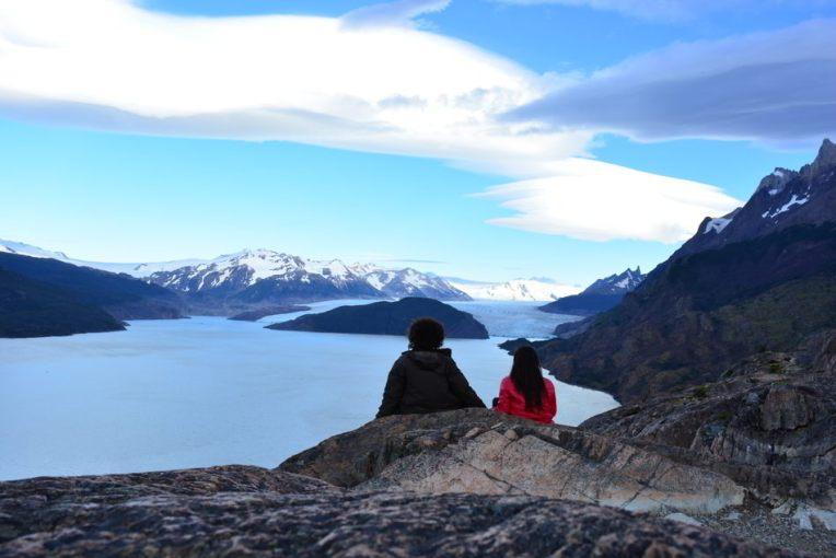 Esperando o sol nascer em Torres del Paine