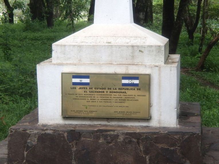 Fronteira Honduras El Salvador