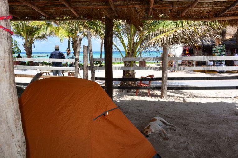 Camping em Mahahual