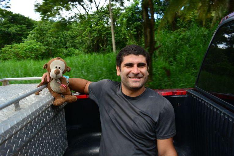 Carona para as ruínas de Palenque