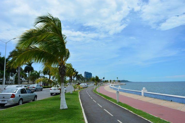 Malecón de Campeche