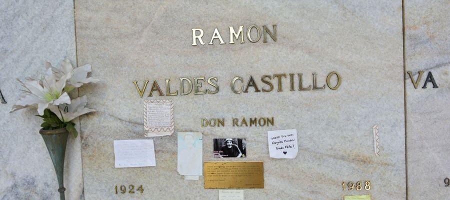 Túmulo de Ramón Valdés, o Seu Madruga