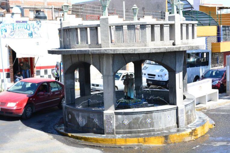 Fuente de los Niños, Puebla