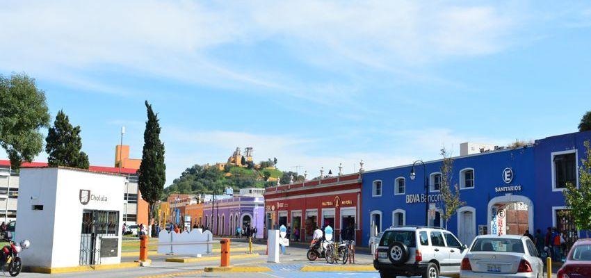 Centro colonial de San Pedro Cholula