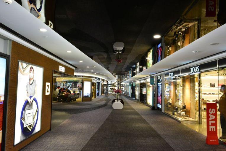 Lojas do aeroporto de Taiwan