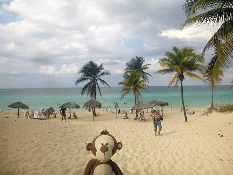 Mucuvinha em Playa del Este, Cuba