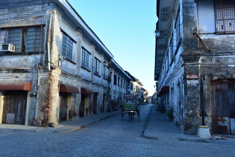 Tranquilas ruas de Vigan
