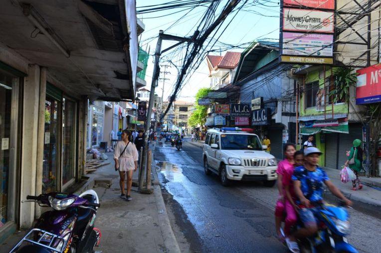 Avenida principal de Boracay