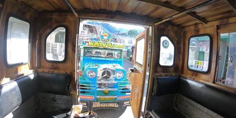 Jeepney para Sagada