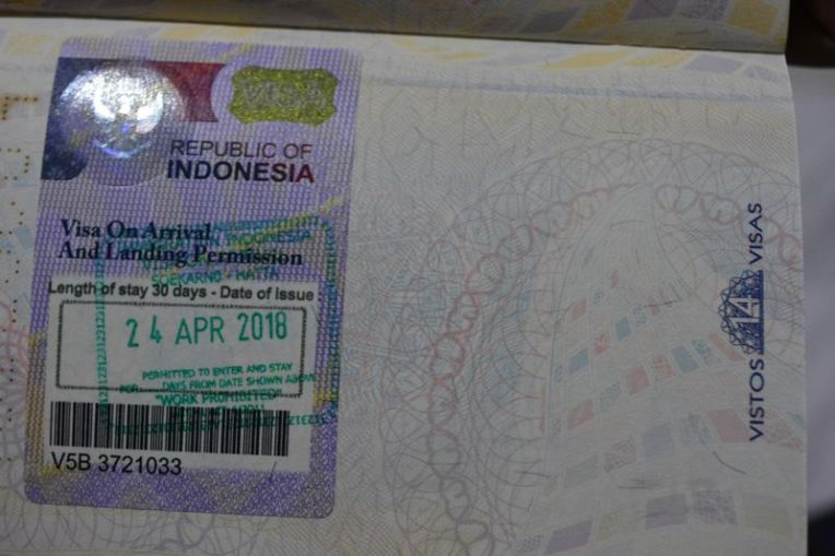Visto Indonésia