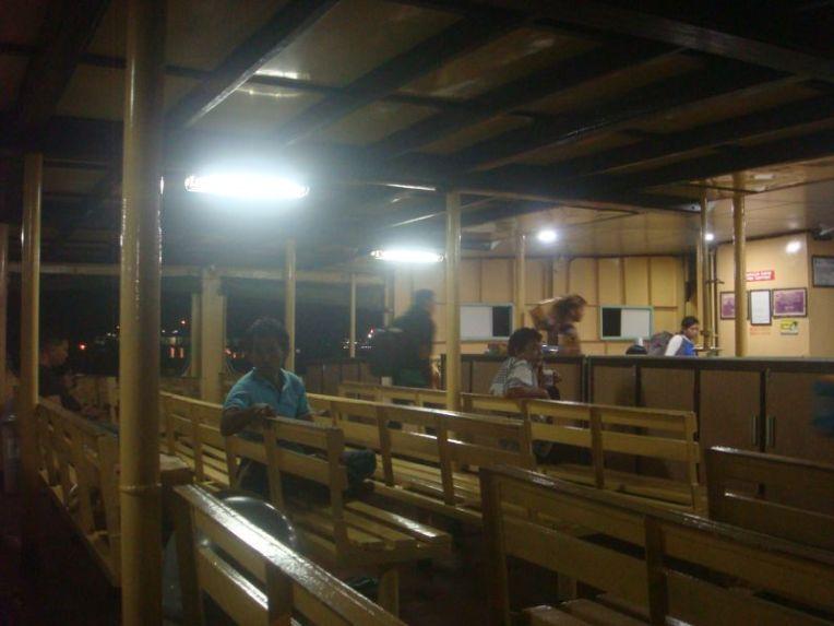 O ferry para Lombok