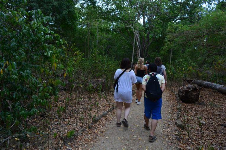 Trilha na ilha de Komodo