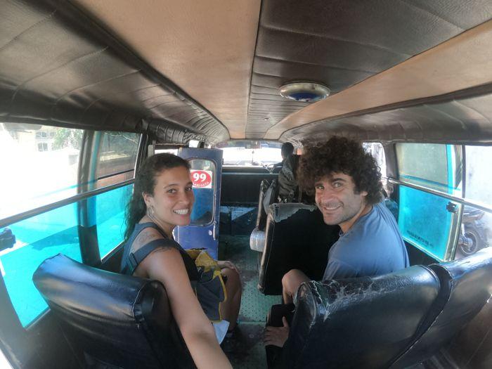 Transporte público em Bali