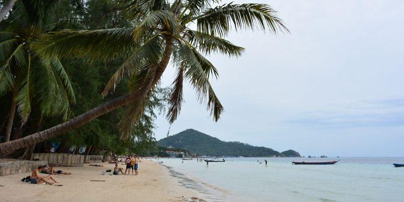A ilha de Koh Tao