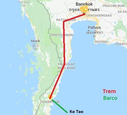 De Bangkok a Koh Tao
