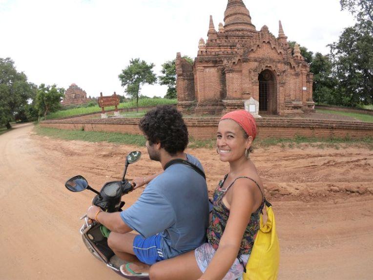 Conhecendo Bagan de moto elétrica