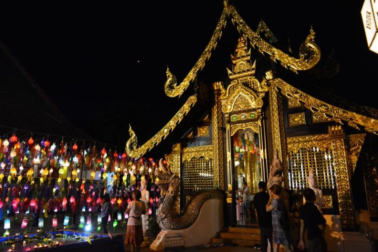 Loy Krathong em Chiang Mai
