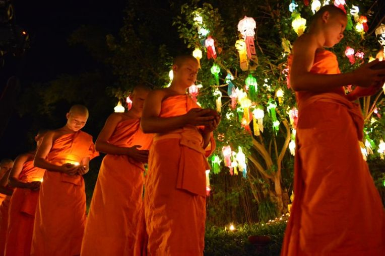 Festival das Lanternas em Chiang Mai