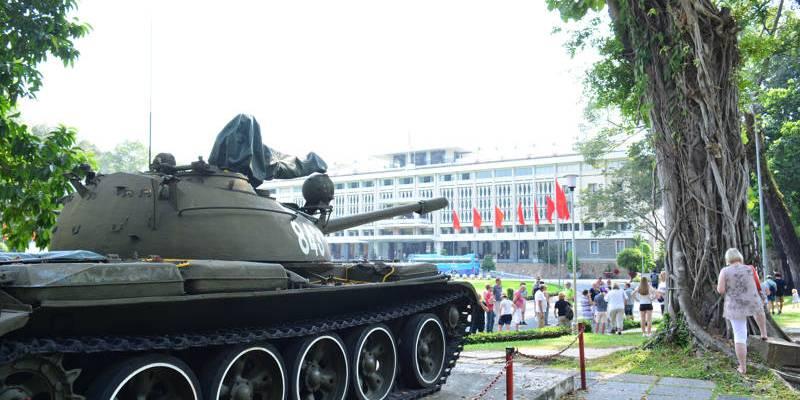 Palácio da Reunificação em Ho Chi Minh