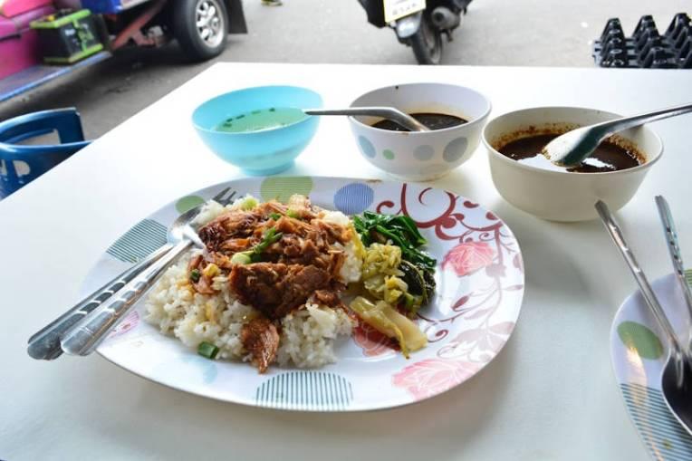 Comida na Tailândia