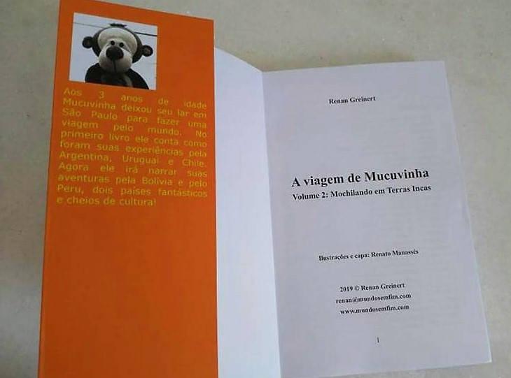As Aventuras de Mucuvinha - Mochilando em Terras Incas