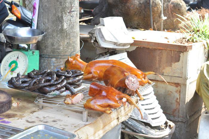 Carne de cachorro em Hanói, Vietnã