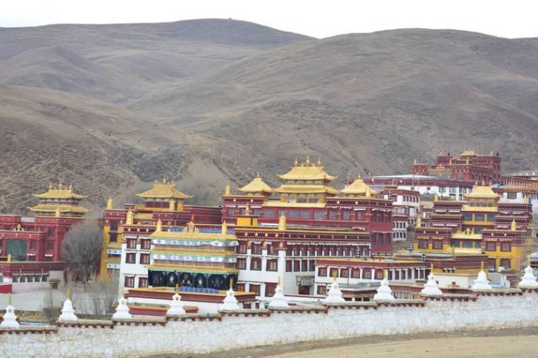 Monastério de Litang, Tibete, China