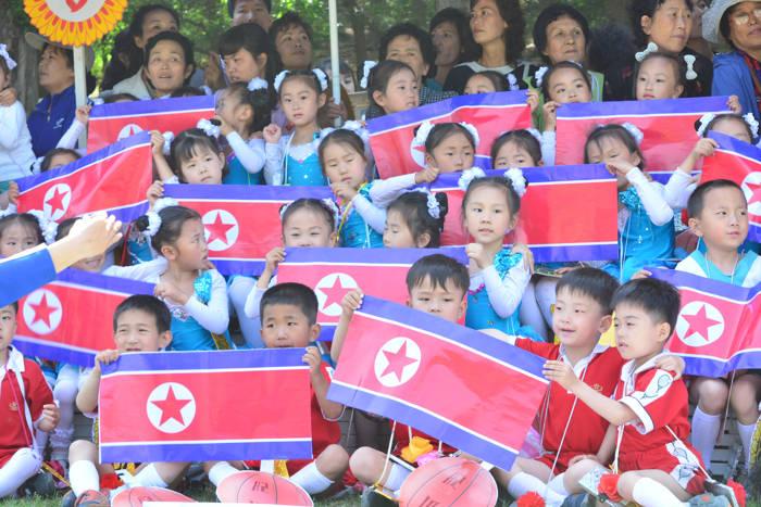 Dia das Crianças na Coreia do Norte