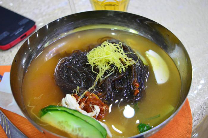 Noodles frio - Coreia do Norte