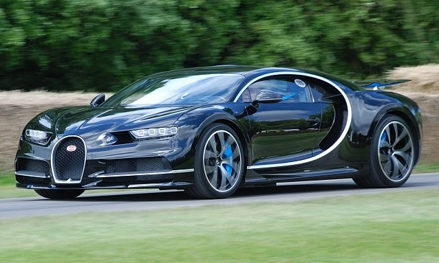 Carros mais caros do mundo - Bugatti Chiron