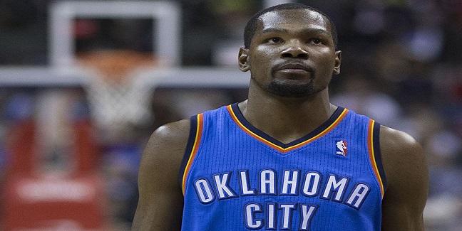 Top 10 atletas mais bem pagos do mundo - Kevin Durant